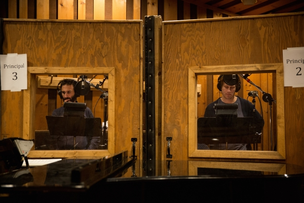 Photo Flash: Inside the Recording Studio with the Cast of THE HUNCHBACK OF NOTRE DAME!
