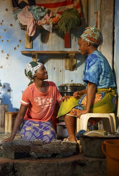 Lupita Nyongo and Saycon Sengbloh
