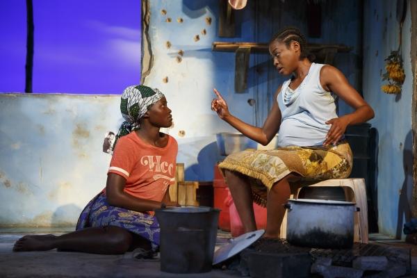 Lupita Nyongo and Pascale Armand