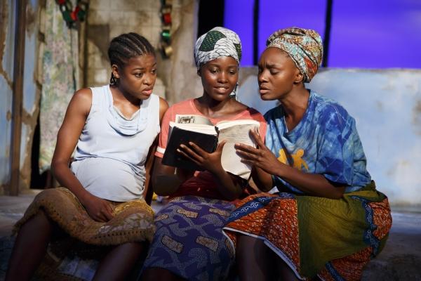 Pascale Armand, Lupita Nyongo, and Saycon Sengbloh