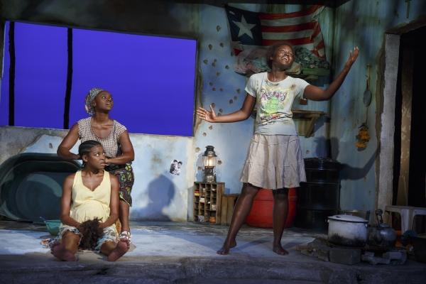 Pascale Armand, Saycon Sengbloh, and Lupita Nyongo