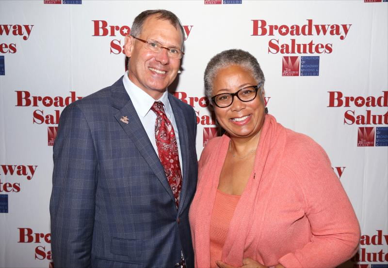 Photo Coverage: Nikki James, Nathaniel Hackmann & More Sing at Broadway Salutes 2015!