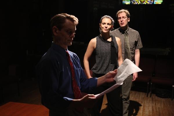 Jason Collins, Larisa Olenik and Ollie Haaskivi.  Photo