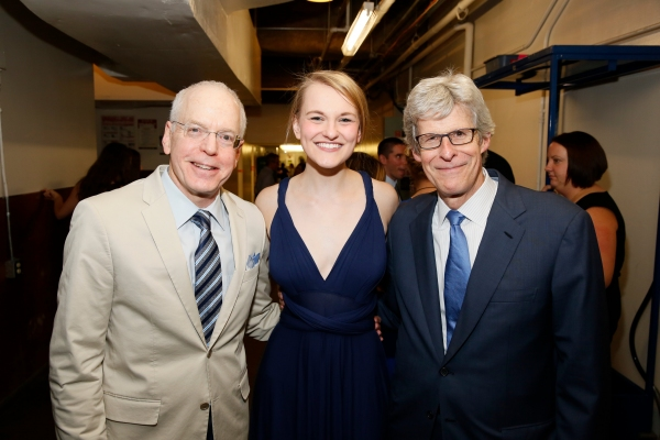 Douglas C. Baker, Kerstin Anderson and Producer Ted Chapin