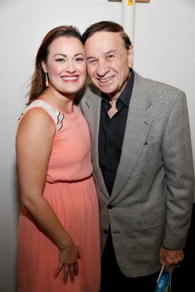 Ashley Brown and Disney composer Richard Sherman