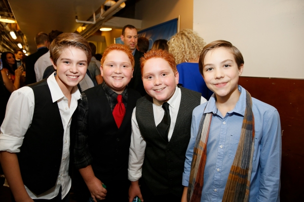 Jeremy Michael Lanuti, Disney actors Matthew Royer, Benjamin Royer and Quinn Erickson