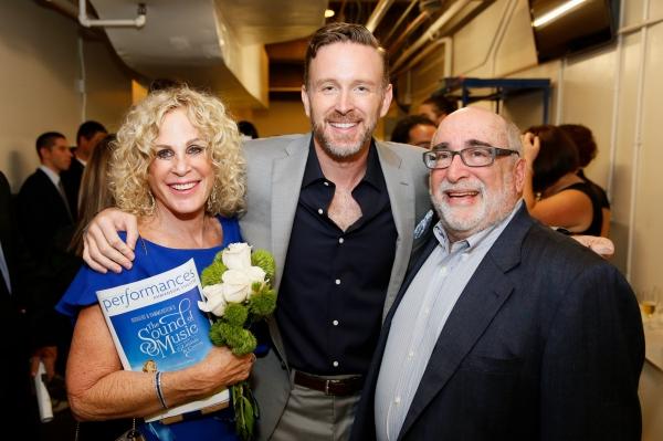 Ben Davis (center) and CTG Artistic ''s Circle members Eileen and Ken Kaplan