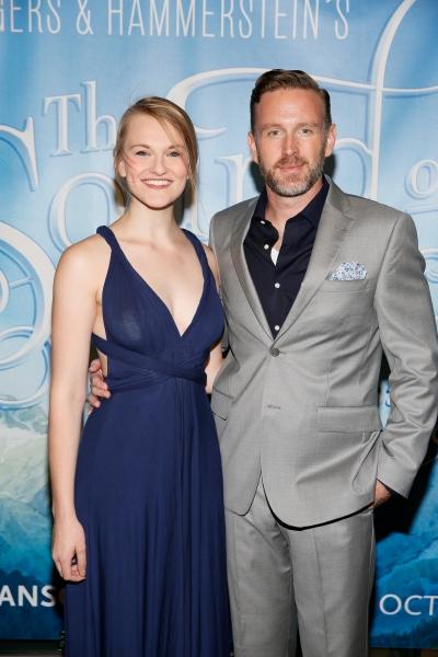 Cast members Kerstin Anderson and Ben Davis