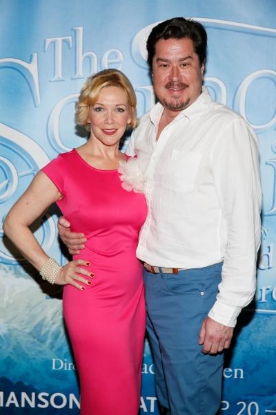 Cast members Teri Hansen and Merwin Foard