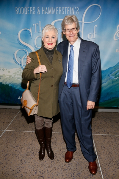 Actress Shirley Jones and Producer Ted Chapin