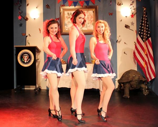 Atalanta Siegel, Melissa Patterson and Rita McCann Photo