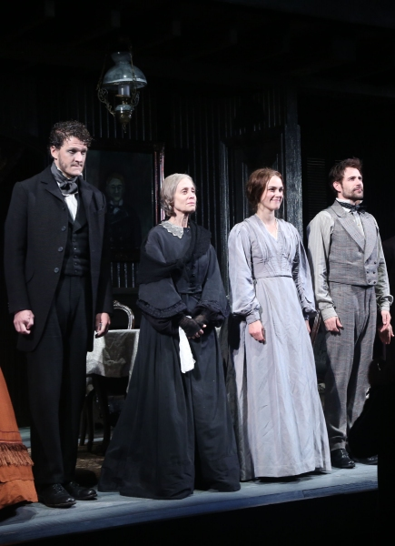 Gabriel Ebert, Judith Light, Keira Knightley and Matt Ryan