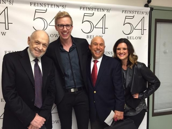 Charles Strouse, Sam Wilmott, Bruce Lazarus, Ashley Moniz
