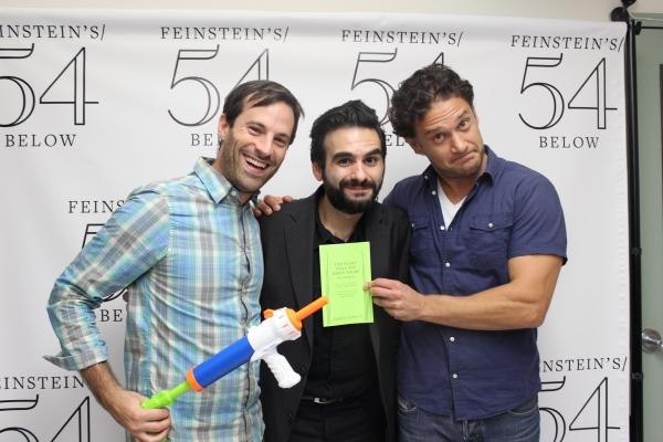 Lance Rubin, Joe Iconis, Jason WIlliams Photo