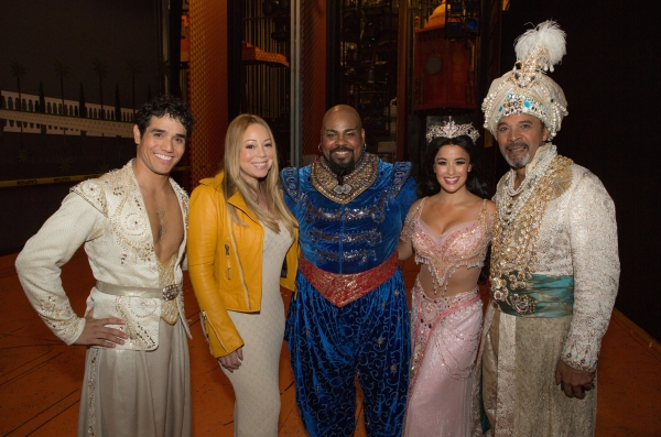 Mariah Carey & Company of ALADDIN