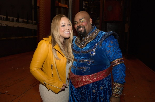 Mariah Carey, James Monroe Iglehart