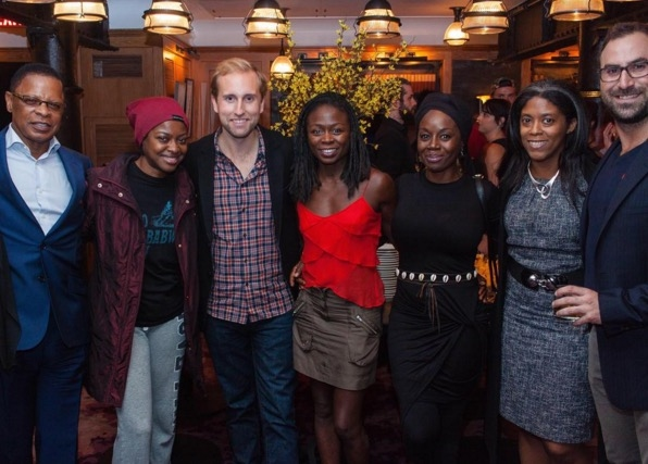 Stephen Byrd, Pascale Armand, Brian Fenty, Zainab Jah, Akosua Busia, Alia Jones-Harvey, and Merritt Baer