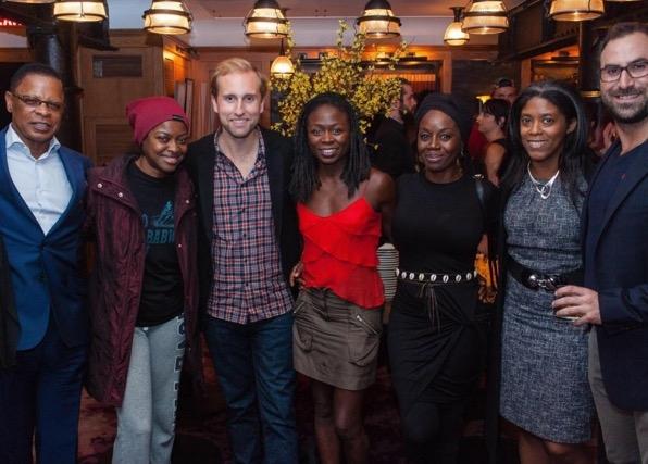 Stephen Byrd, Pascale Armand, Brian Fenty, Zainab Jah, Akosua Busia, Alia Jones-Harvey, and Merritt Baer