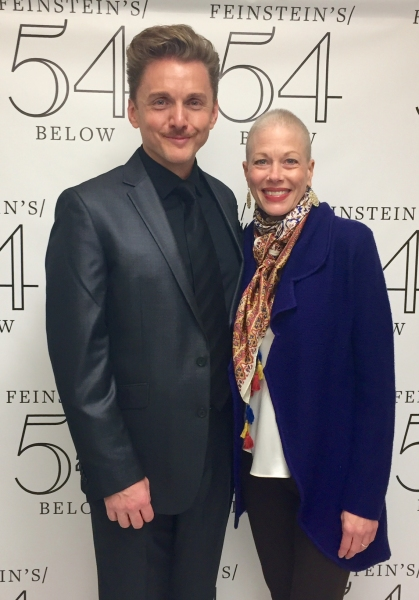 Photo Coverage: Mazzie, Rivera, Ahrens & More Celebrate Jason Danieley's Opening at Feinstein's/54 Below