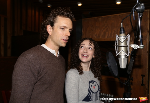 Photo Coverage: In the Recording Studio with DADDY LONG LEGS Cast