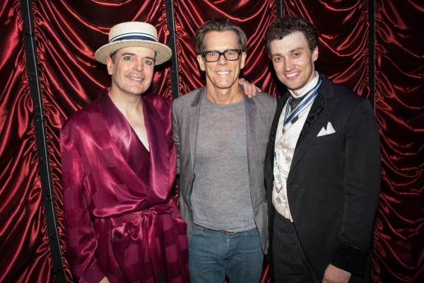 Jefferson Mays, Kevin Bacon and Bryce Pinkham