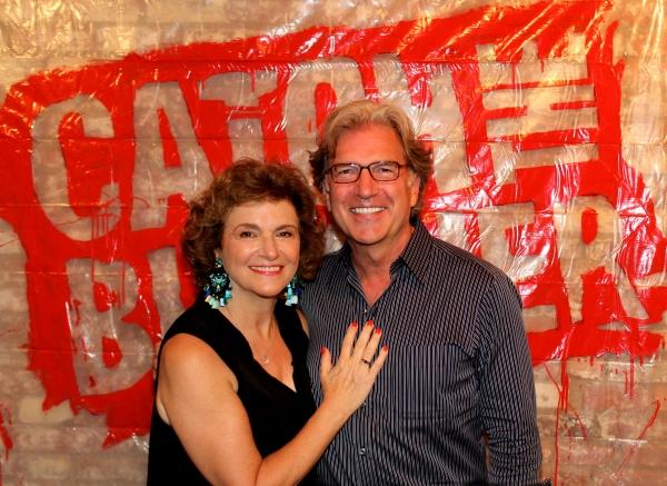 Angelina Fiordellisi and Matt Williams