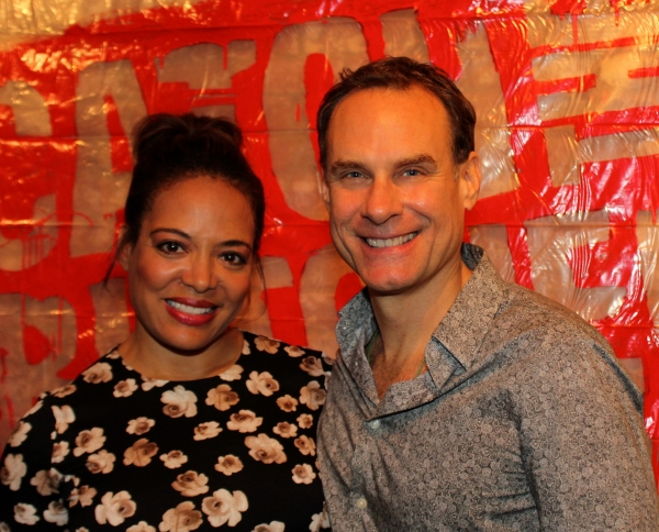 Lauren Luna Velez and Jonathan Walker