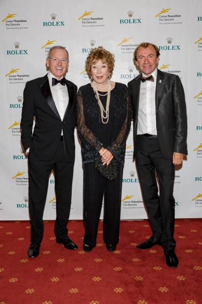 Andrew Faas, Shirley MacLaine and Lee Wells