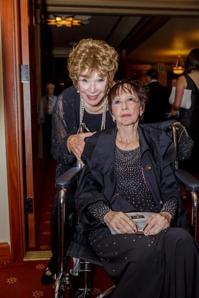 Shirley MacLaine and Sono Sato