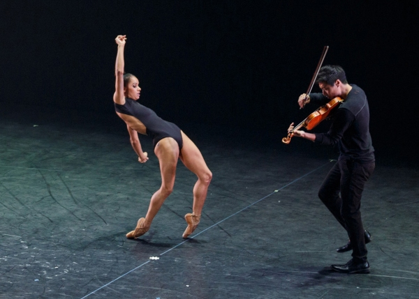 Misty Copeland and Charles Yang