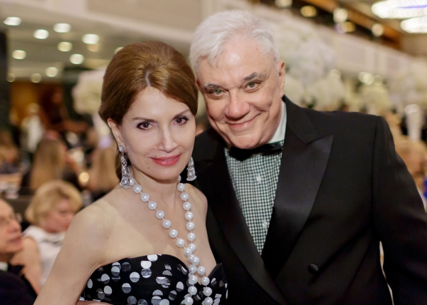 Jean Shafiroff and Rex Reed