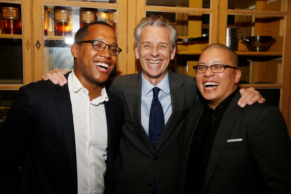 Branden Jacobs-Jenkins, Michael Ritchie and Eric Ting Photo