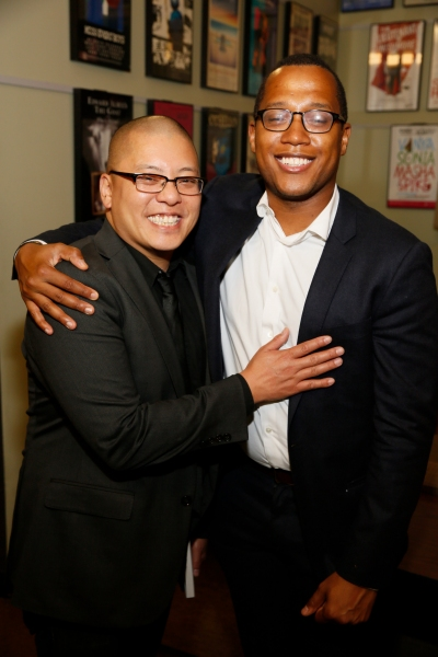 Director Eric Ting and playwright Branden Jacobs-Jenkins