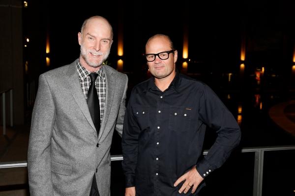 Hugo Armstrong and Chris Bauer