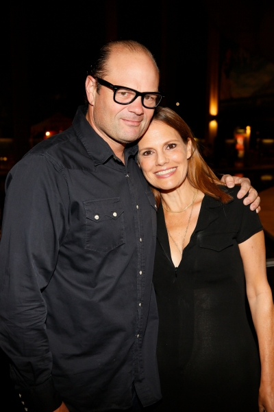 Chris Bauer and actress Suzanne Cryer
