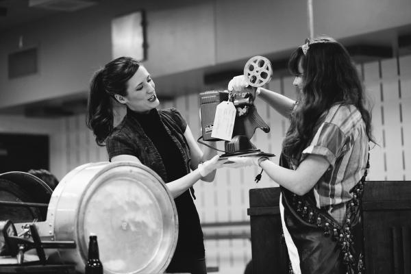 Melissa King as Joann Ryals and dog & pony dc''s Adelaide Waldrop (dog & pony dc) as MJ Soch