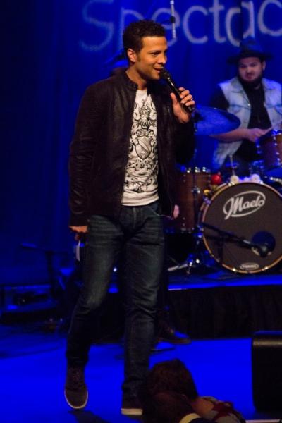 Photos: Justin Guarini, Deborah Cox, Alex Brightman, and Tony Vincent Rock Out at CELEBRITY KARAOKE!