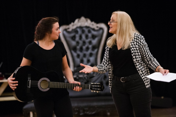Desi Oakley (Tina Girlstar) and Donna Migliaccio (Daniella Espere)