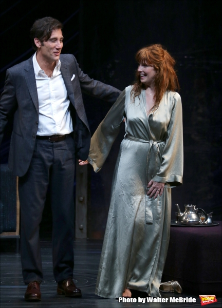Photo Coverage: Clive Owen,Eve BestandKelly Reilly Take First Broadway Bows in OLD TIMES!