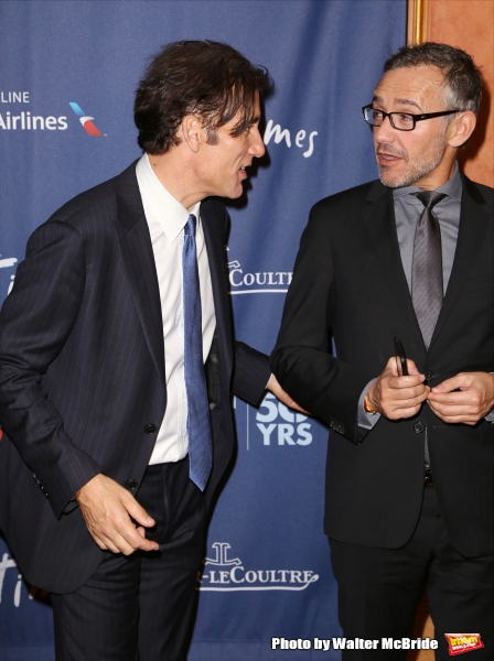 Clive Owen and Laurent Vinay