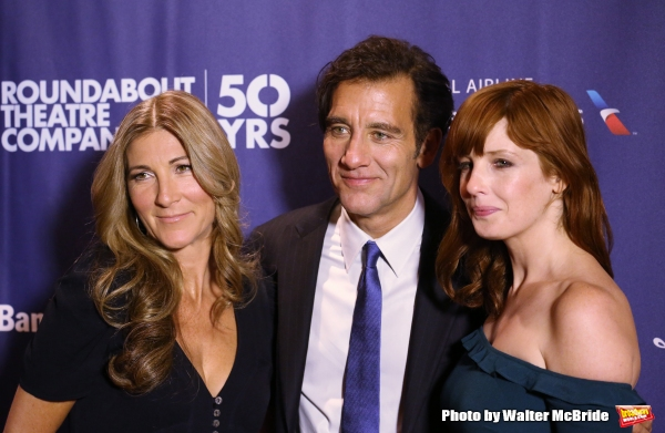 Photo Coverage: Clive Owen, Eve Best and Kelly Reilly Celebrate Opening Night of OLD TIMES!
