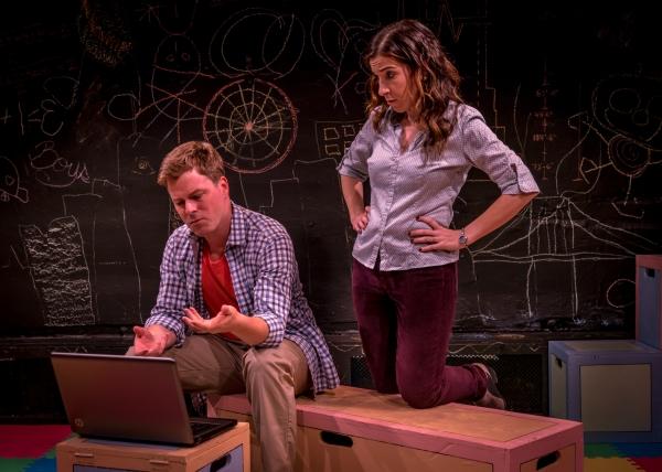 Eric Bryant (Ben) and Sarah Sirota (Amy)