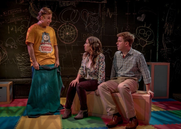 Adam LeBow (Charlie), Sarah Sirota (Amy) and Eric Bryant (Ben)
