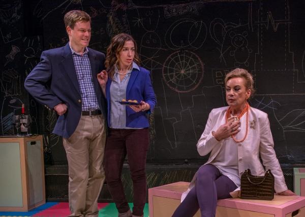 Eric Bryant (Ben), Sarah Sirota (Amy) amd Susan Cella (Binky)