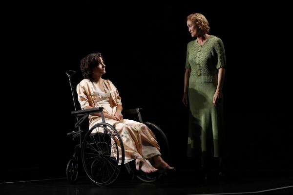 Felicity Jones and Angela Reed