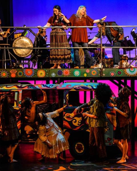 Photo Flash: First Look at HAIR at Bainbridge Performing Arts