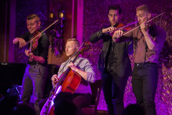 Photo Flash: Well-Strung Performs POPssical to Sold-Out Crowd at Feinstein's/54 Below
