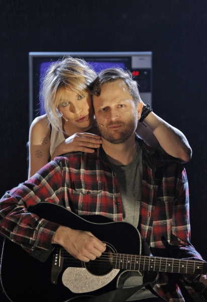 Courtney Love and Todd Almond