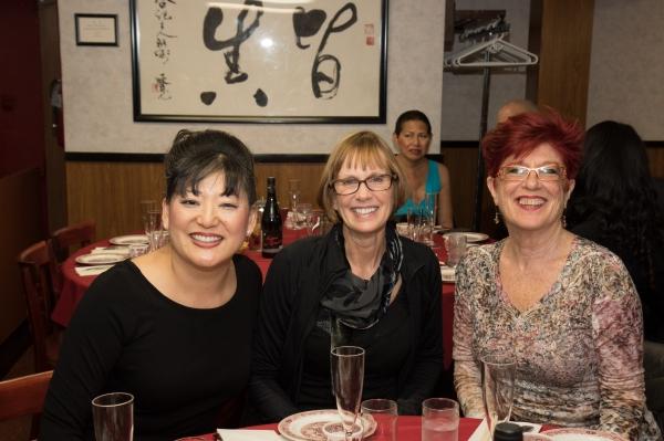 Karin Kawamoto, Diane Laurenson, Margo Sappington