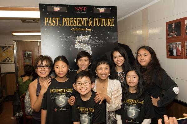 Nina Zoie Lam, Baayork Lee, NAAP kids